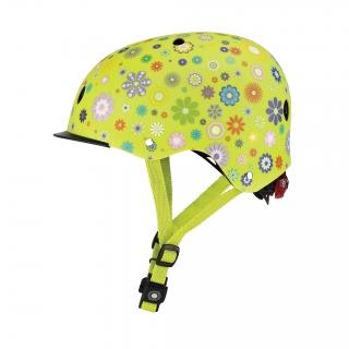 ELITE-helmets-scooter-helmets-for-kids-with-adjustable-helmet-knob-lime-green thumbnail 1