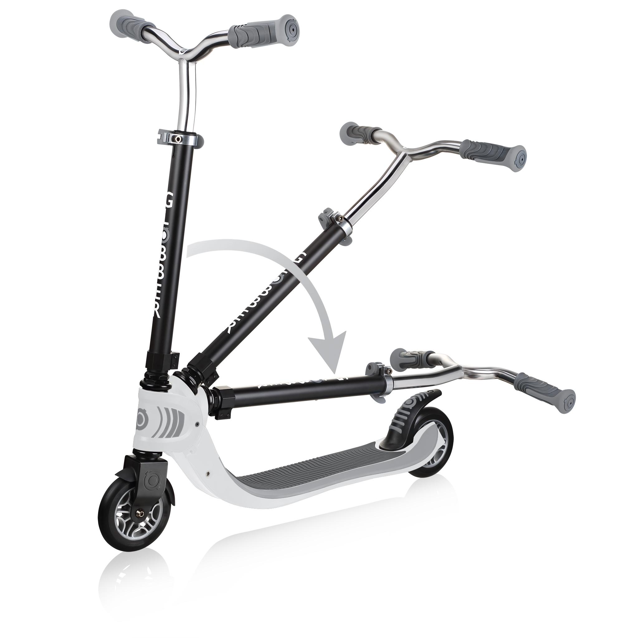 FLOW-FOLDABLE-125-2-wheel-folding-scooter-for-kids-white 2