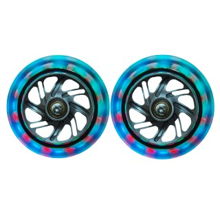 Product image of Spare part: 121mm LED light-up front scooter wheels