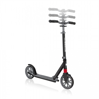 Globber-NL-205-205mm-big-wheel-scooter-for-kids-3-height-adjustable-scooter-t-bar thumbnail 2
