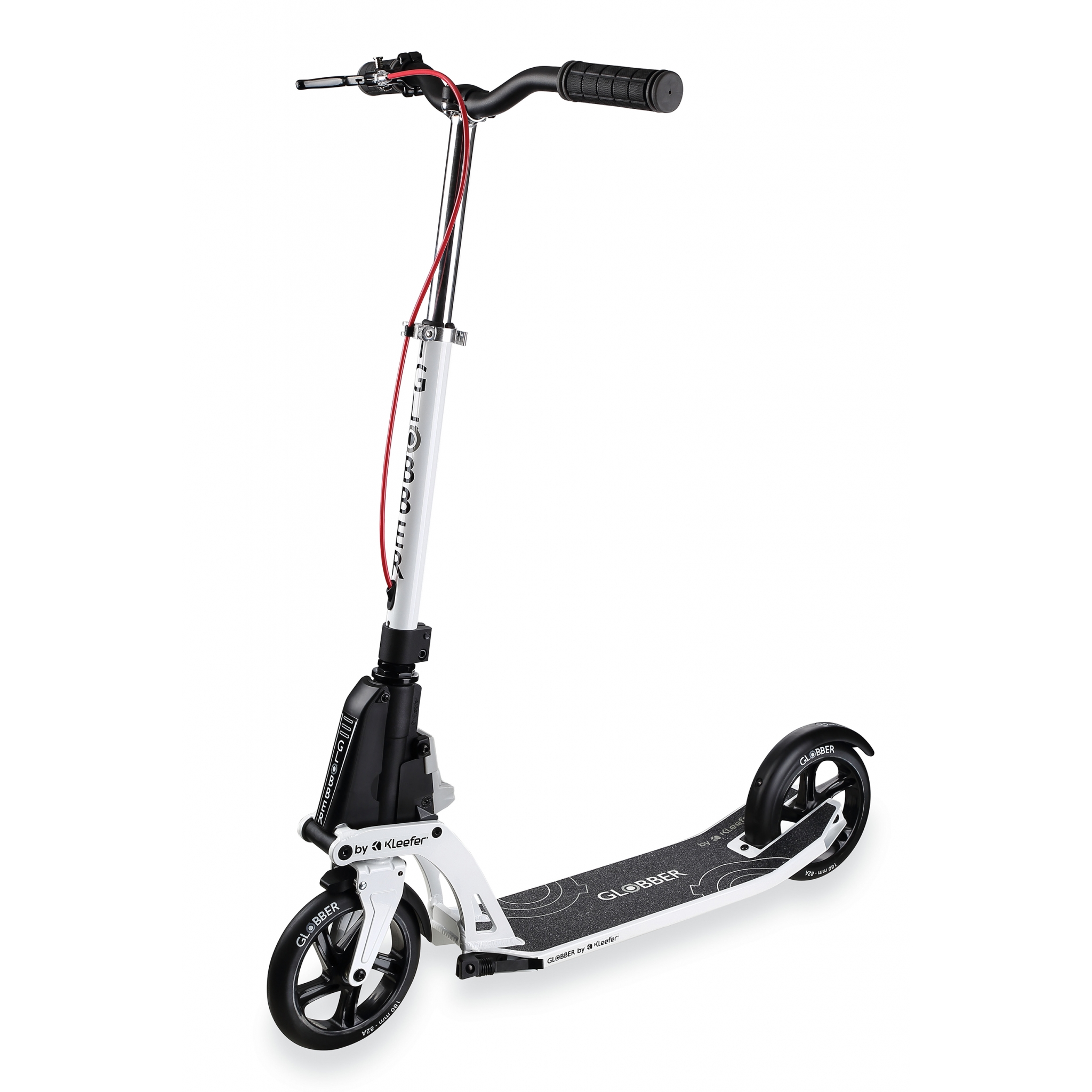 foldable scooter for adults with handbrake - Globber ONE K ACTIVE BR 0