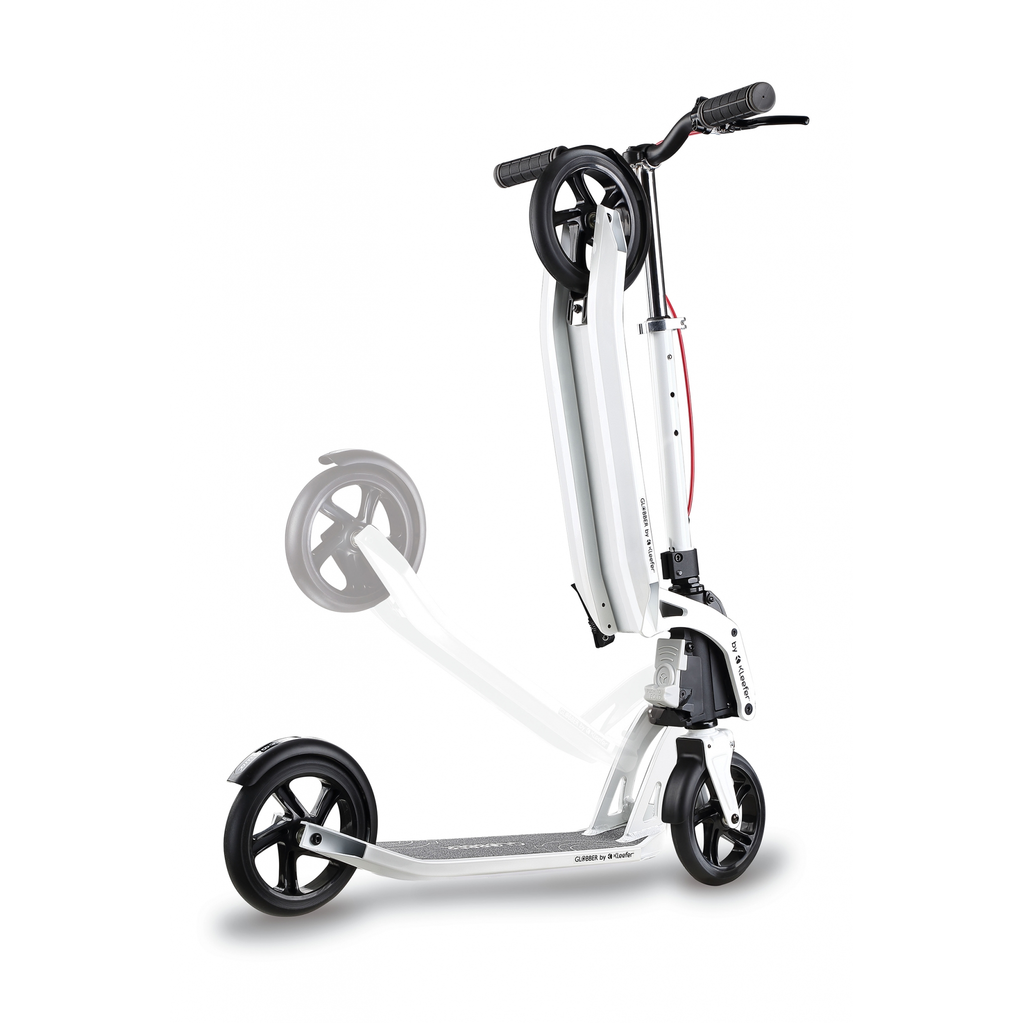 foldable scooter for adults with handbrake - Globber ONE K ACTIVE BR 2