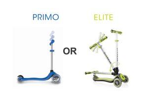 Quelles sont les différences entre les trottinettes PRIMO & ELITE ?
