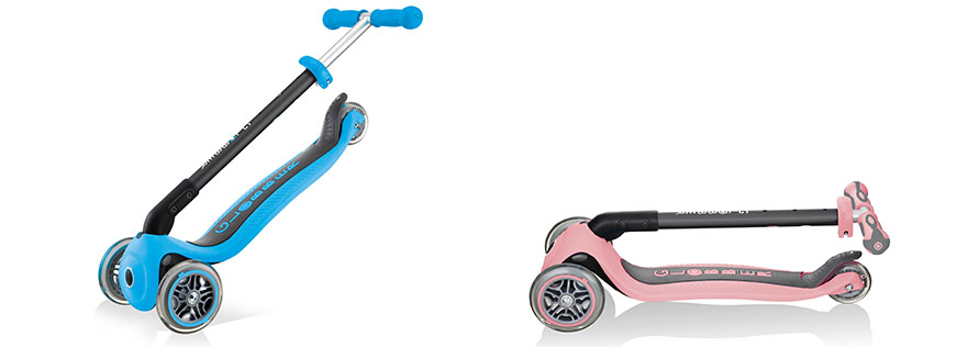 GO UP Series - Best Foldable Toddler Scooters with Seat