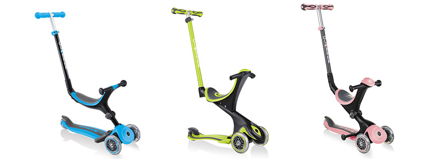 GO UP Series - toddler scooters with seat