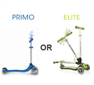 What are the differences between ELITE & PRIMO?