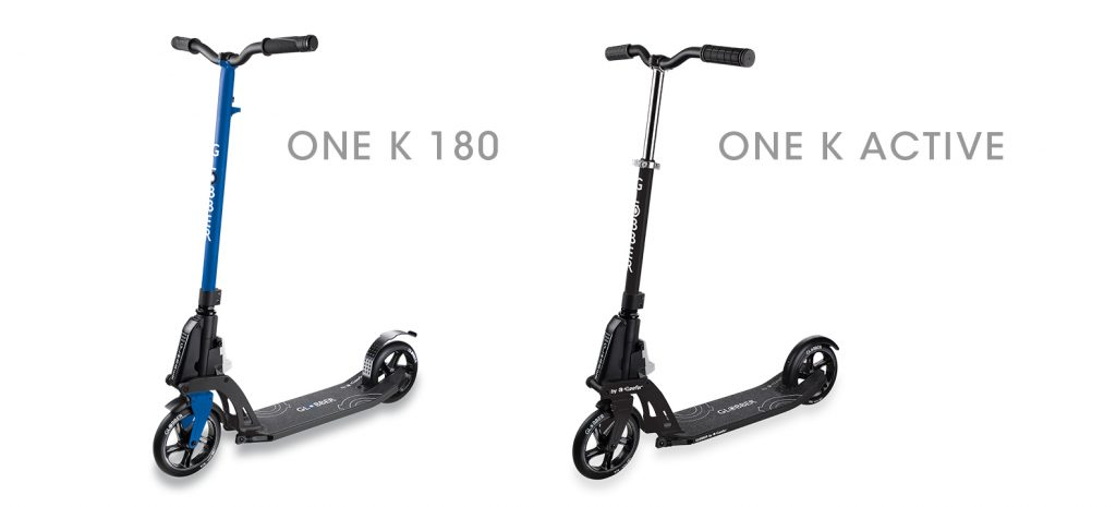 Globber's ONE K series kick foldable scooters for adults, supporting up to 100kg, are the best urban scooters for adults. Globber's patented & unique Kick & Fold folding system allows you to easily kick the scooter to a folded position, to easily carry it.