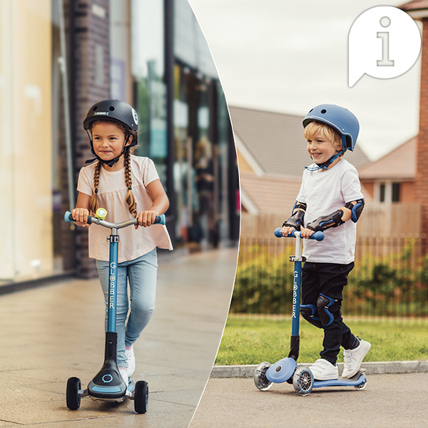How to Use PRIMO, ELITE, MASTER, ULTIMUM Scooters for Kids