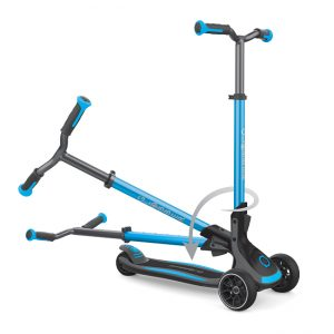 Globber ULTIMUM - 3-wheel foldable scooter for kids and teens with patented steering system