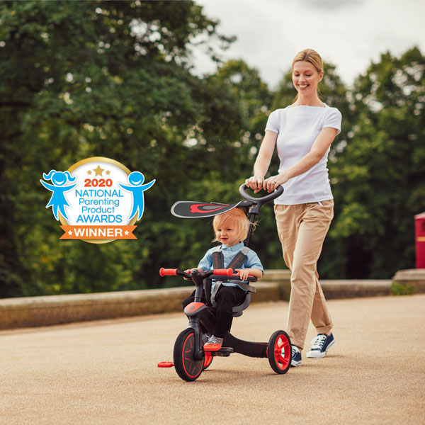 Cover image of Award-Winning Globber Baby Tricycle & Kids Balance Bike