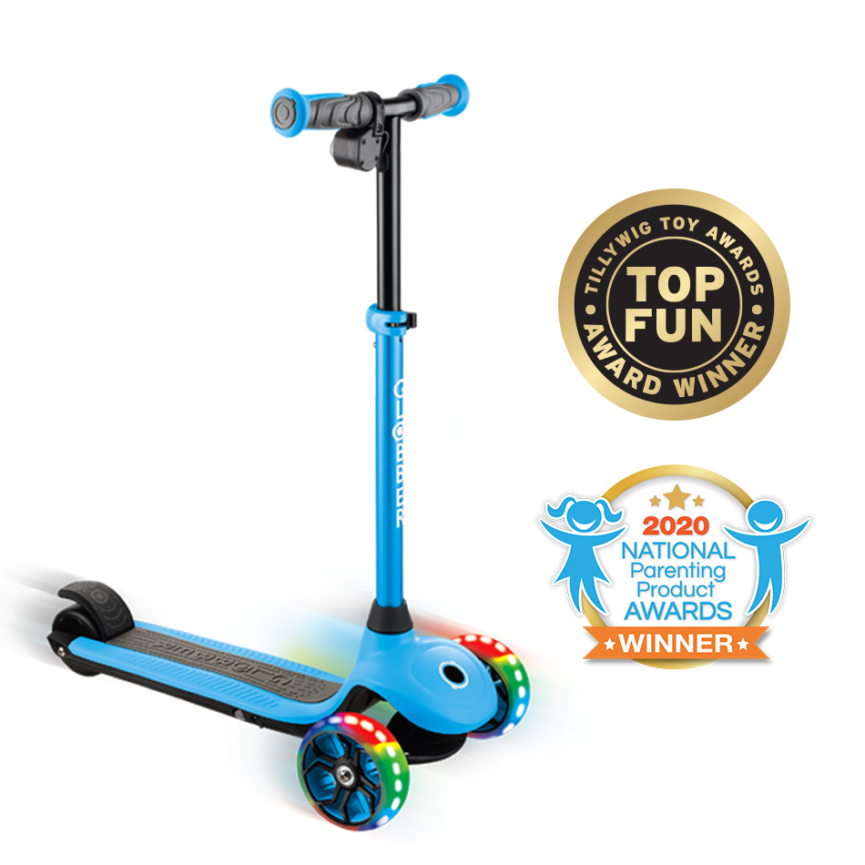 Cover image of Award-Winning Electric Scooter for Kids