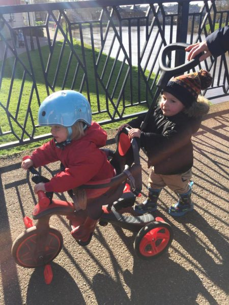Globber toddler tricycle review