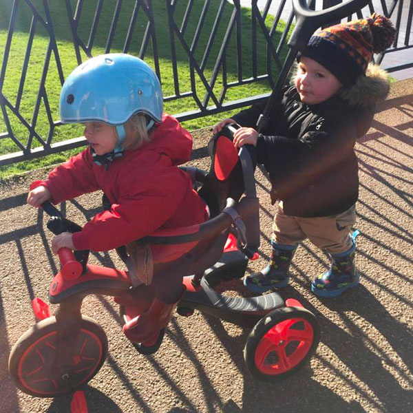 Cover image of [Parent's Review] Fun Times on Globber's Toddler Tricycle!