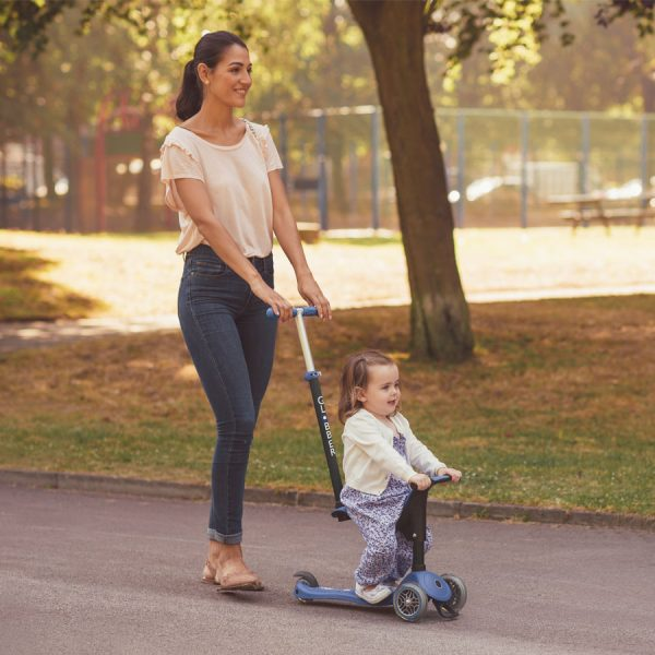 Globber GO-UP SPORTY award-winning baby scooter with seat