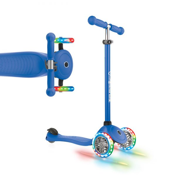 Globber PRIMO LIGHTS - Best beginner scooter for kids aged 5 to 6 years old