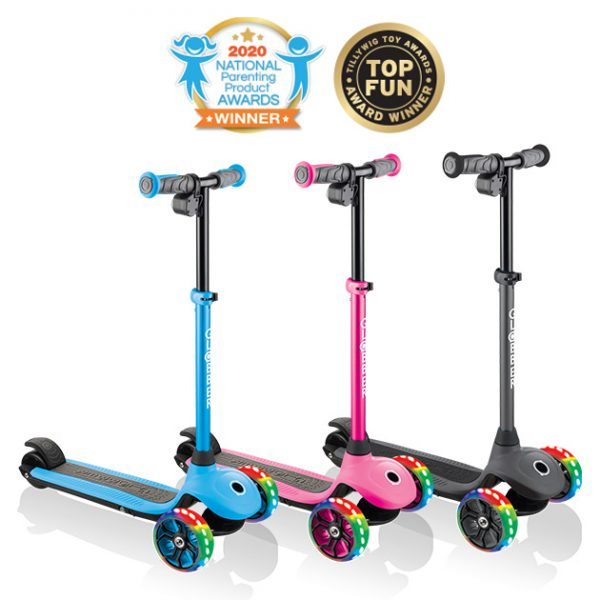 Globber ONE K-E MOTION 4 - Best electric scooter for kids aged 5-6 years old