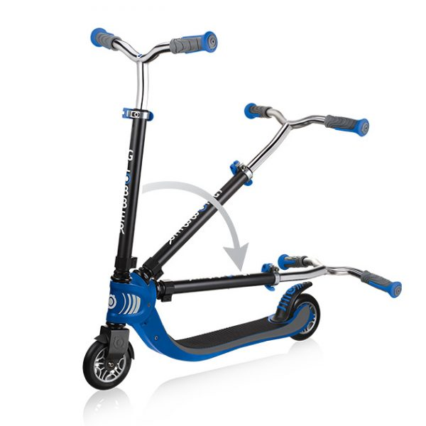 Globber FLOW FOLDABLE 125 - Best 2 wheel scooter for kids and teens
