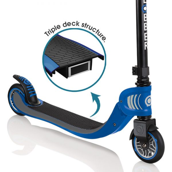 Globber FLOW FOLDABLE 125 - Best 2 wheel scooter for boys and girls