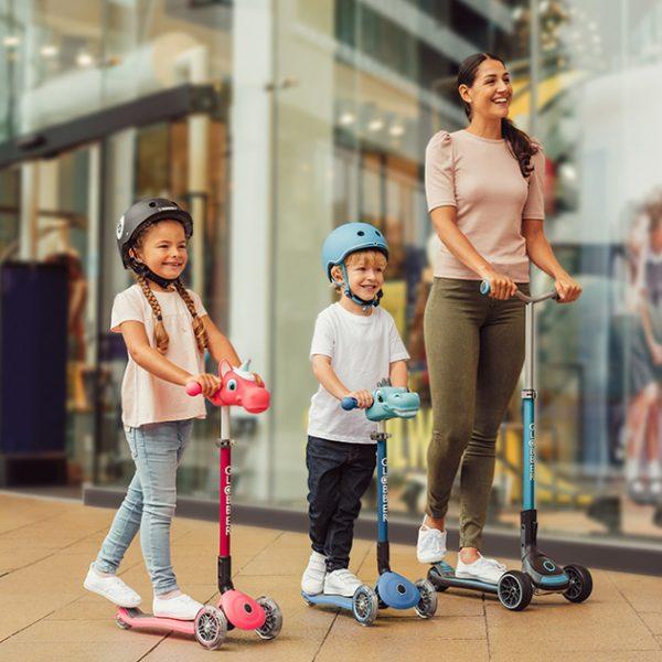 Globber safest 3-wheel scooters for kids