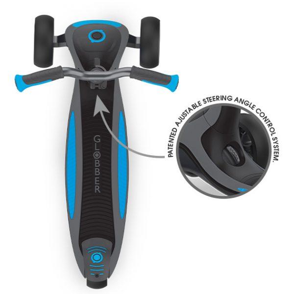 Globber ULTIMUM - 3 wheel scooter turn to steer