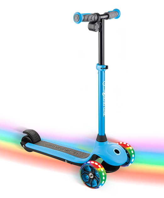 ONE K E-MOTION 4 light-up electric scooter