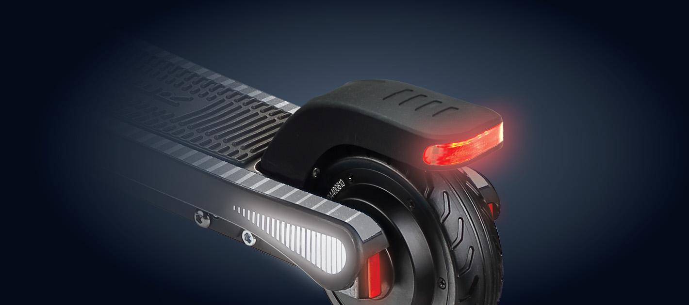 Safety - Kids electric scooter brake system