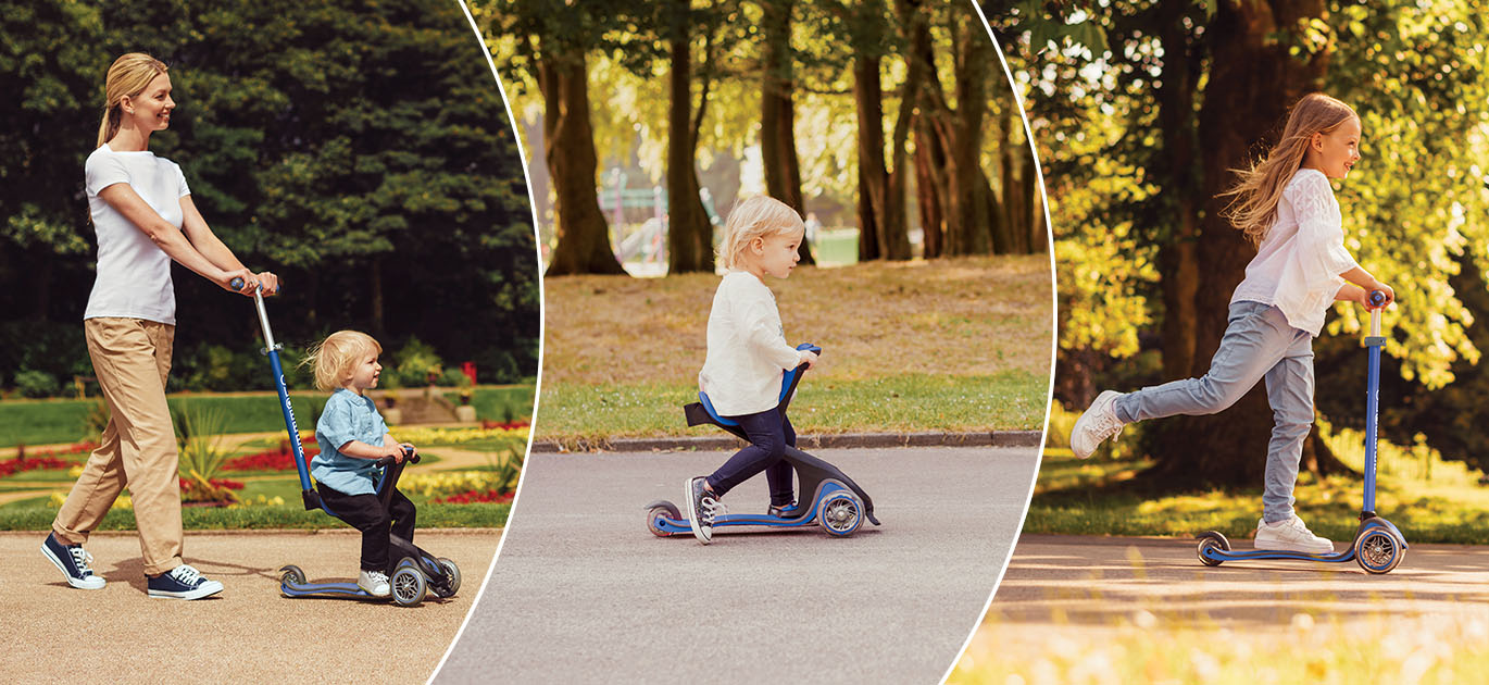 Globber GO UP Series - Best scooters with seat for toddlers