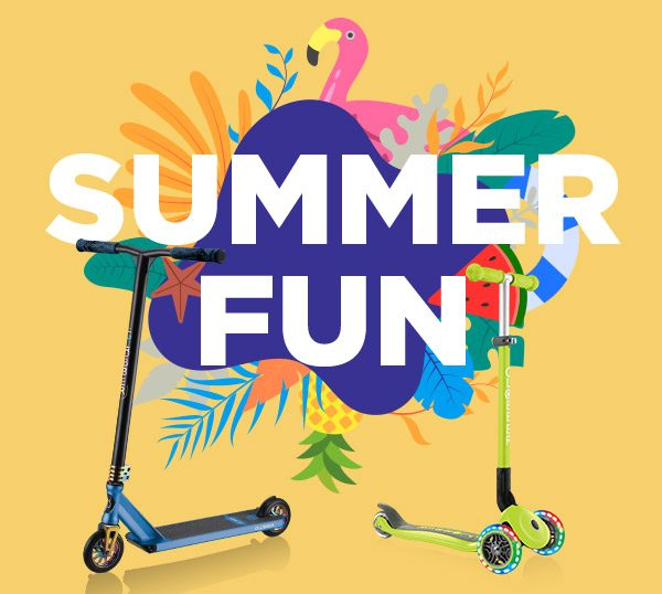 Globber's Hottest Scooter Roundup for Summer Fun