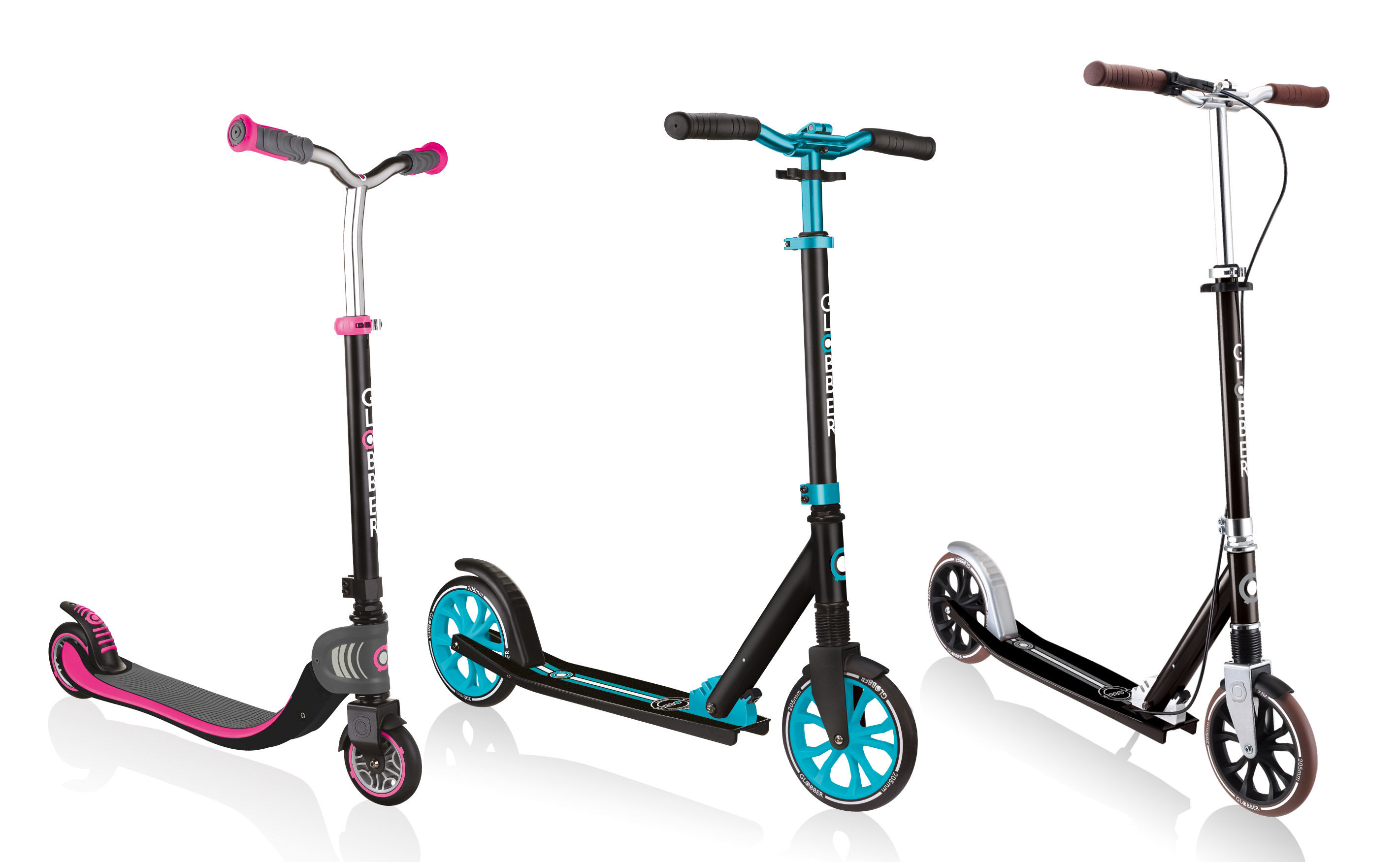 Globber 2-wheel scooters for kids and teens