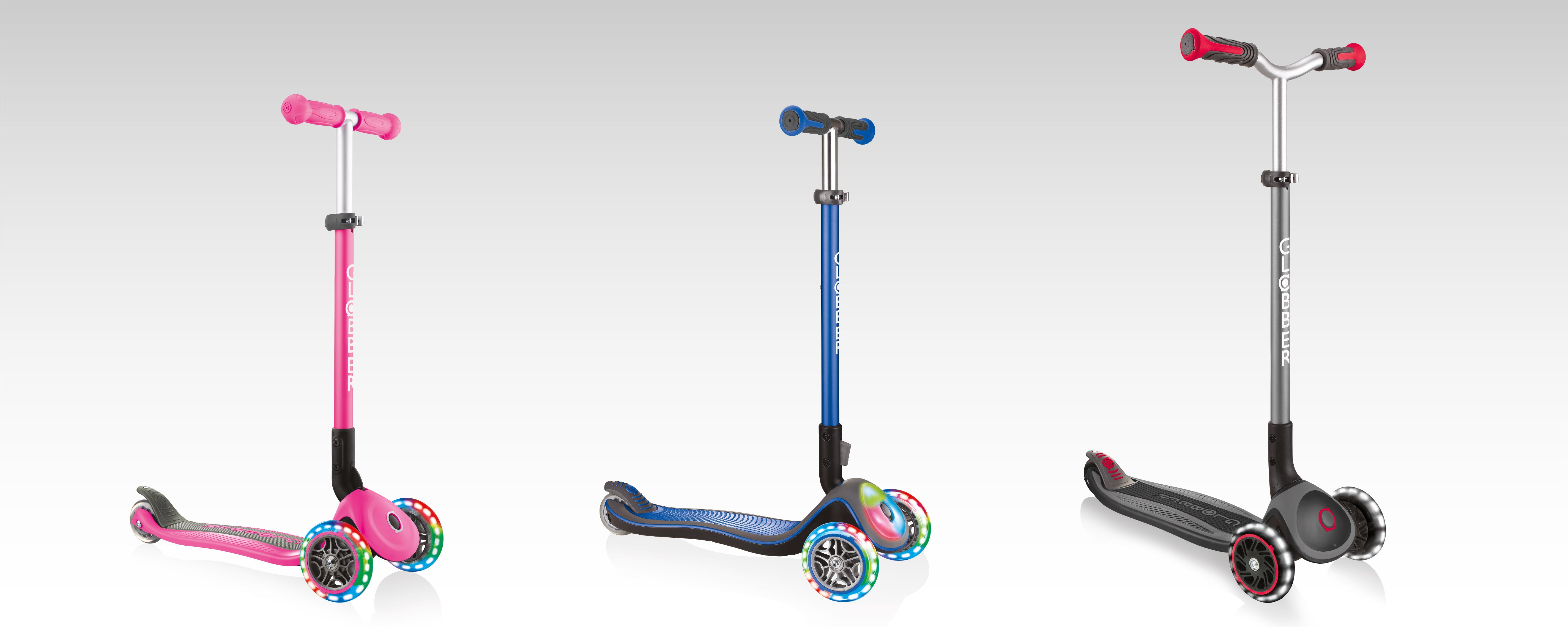 Globber 3-wheel scooters for kids