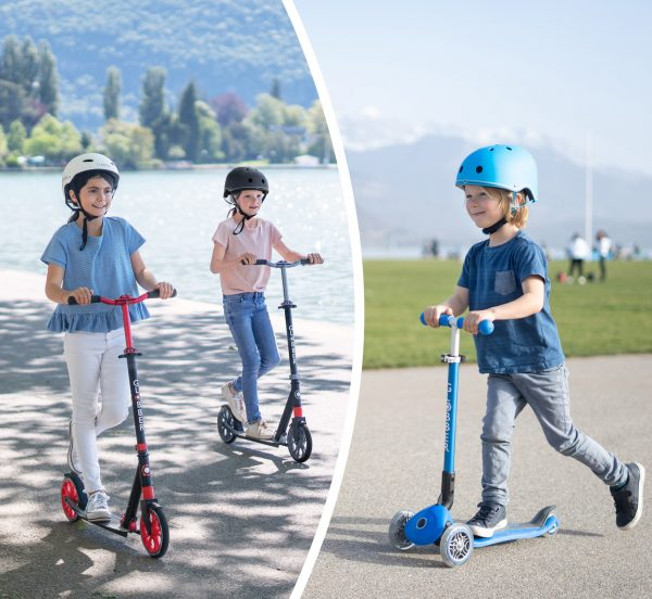 3-wheel or 2-wheel scooters? Get your kid the best Globber scooter!
