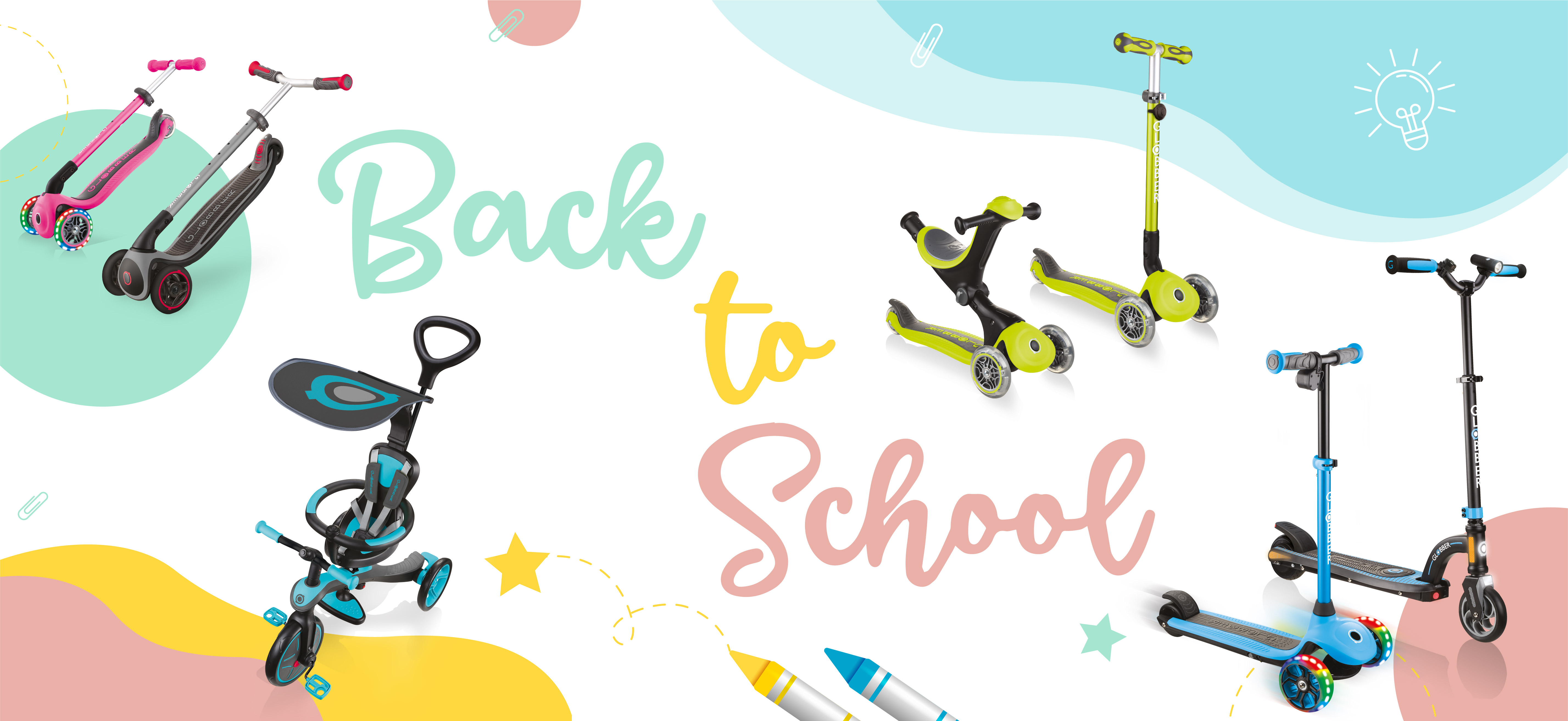 Best Globber scooters for back to school