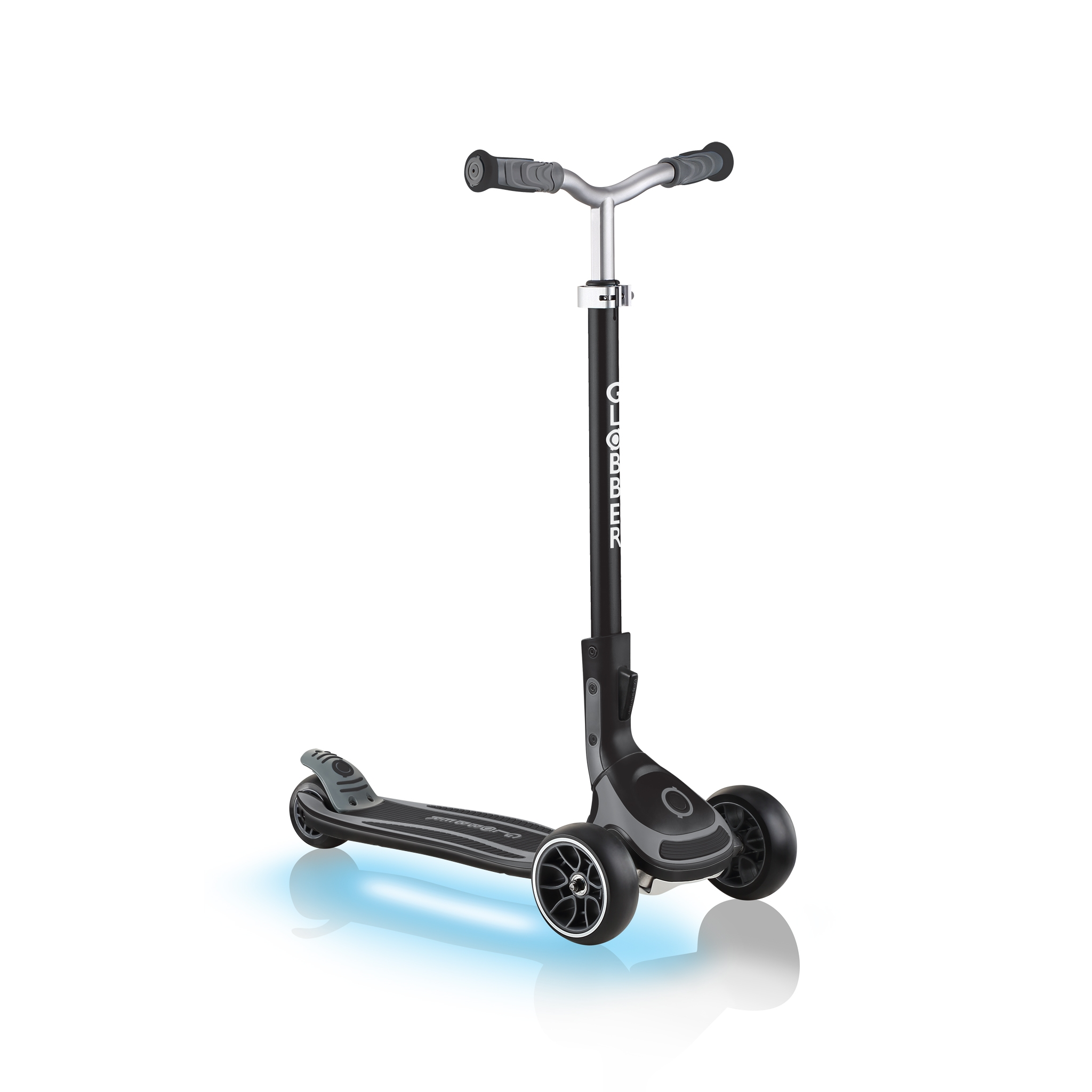 ULTIMUM-LIGHTS-3-wheel-light-up-scooter-for-kids-and-teens-black 0