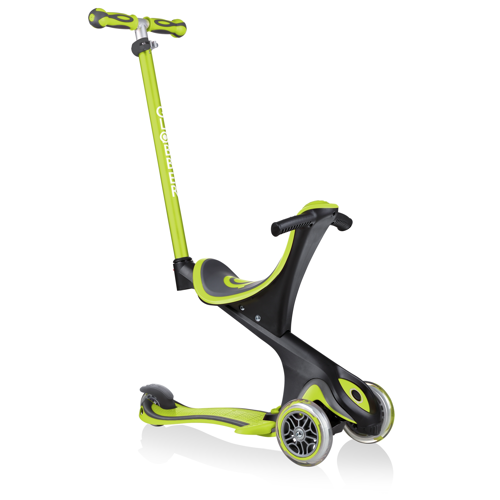 GO-UP-COMFORT-scooter-with-seat-with-extra-wide-seat-lime-green
