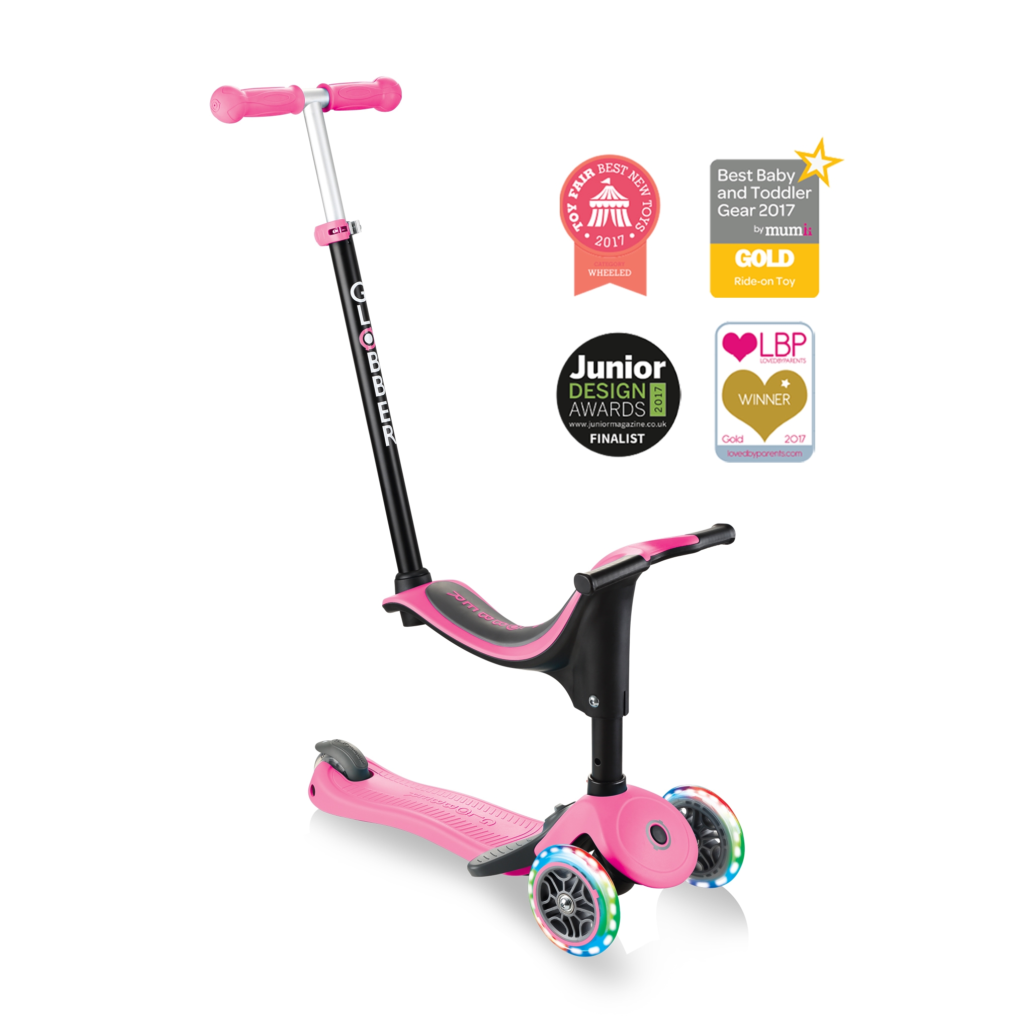 GO-UP-SPORTY-PLUS-LIGHTS-scooter-with-seat-ride-on-mode_deep-pink 0