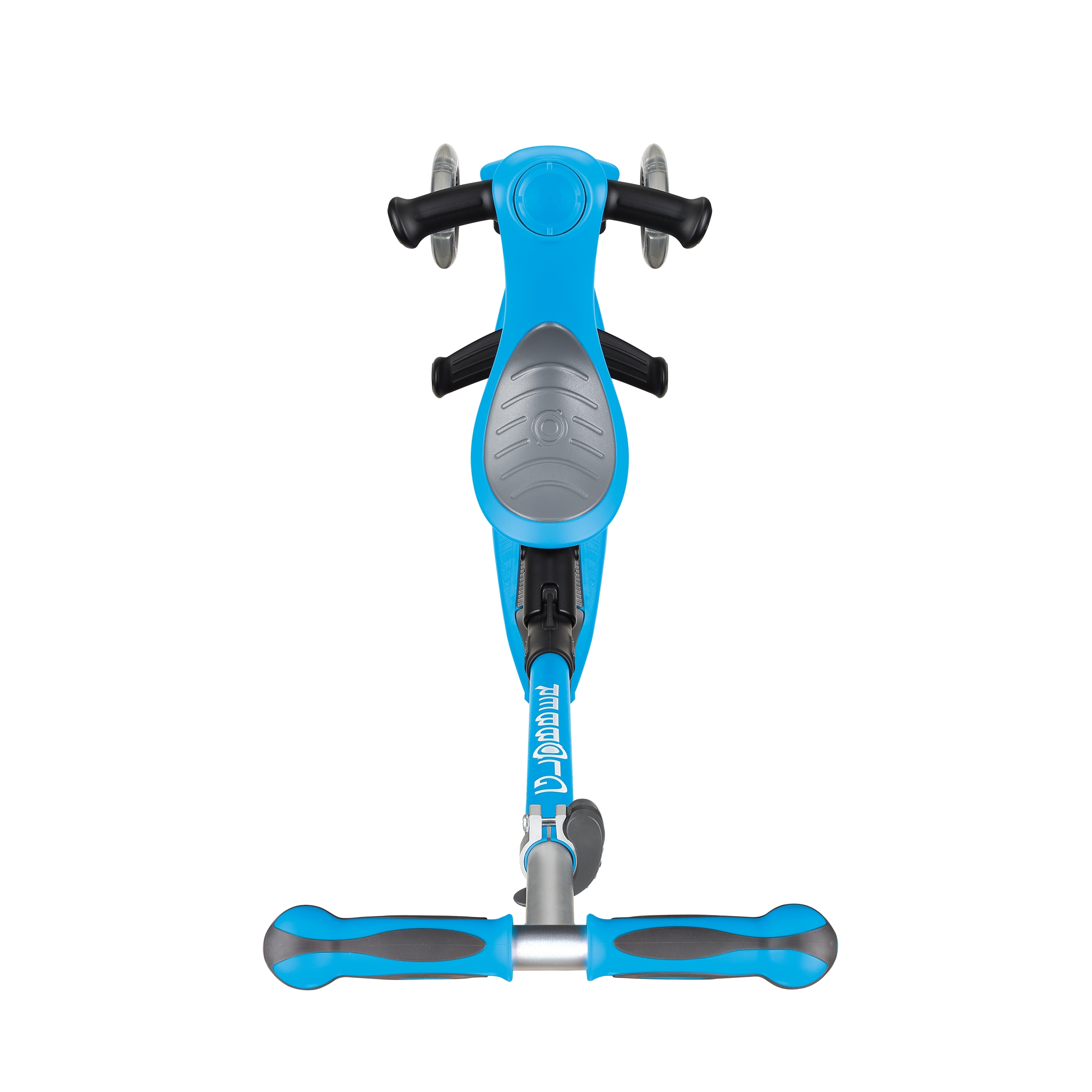 GO-UP-DELUXE-ride-on-walking-bike-scooter-with-extra-wide-3-height-adjustable-seat-sky-blue