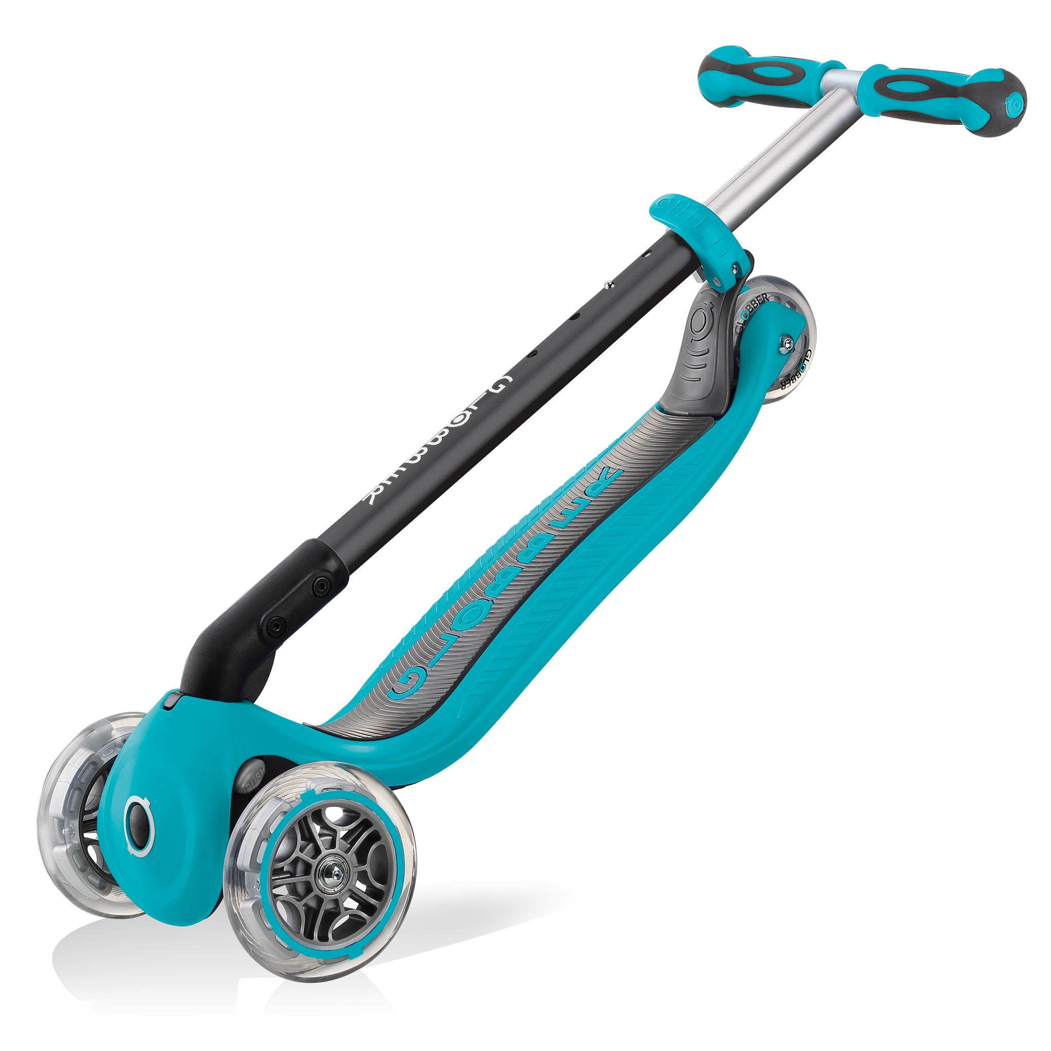 GO-UP-DELUXE-ride-on-walking-bike-scooter-trolley-mode-compatible-teal 5