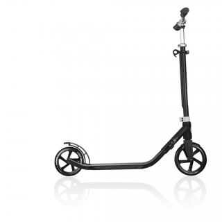 Globber-ONE-NL-205-180-DUO-2-wheel-foldable-scooter-for-adults-aluminium-deck-lead-grey thumbnail 3