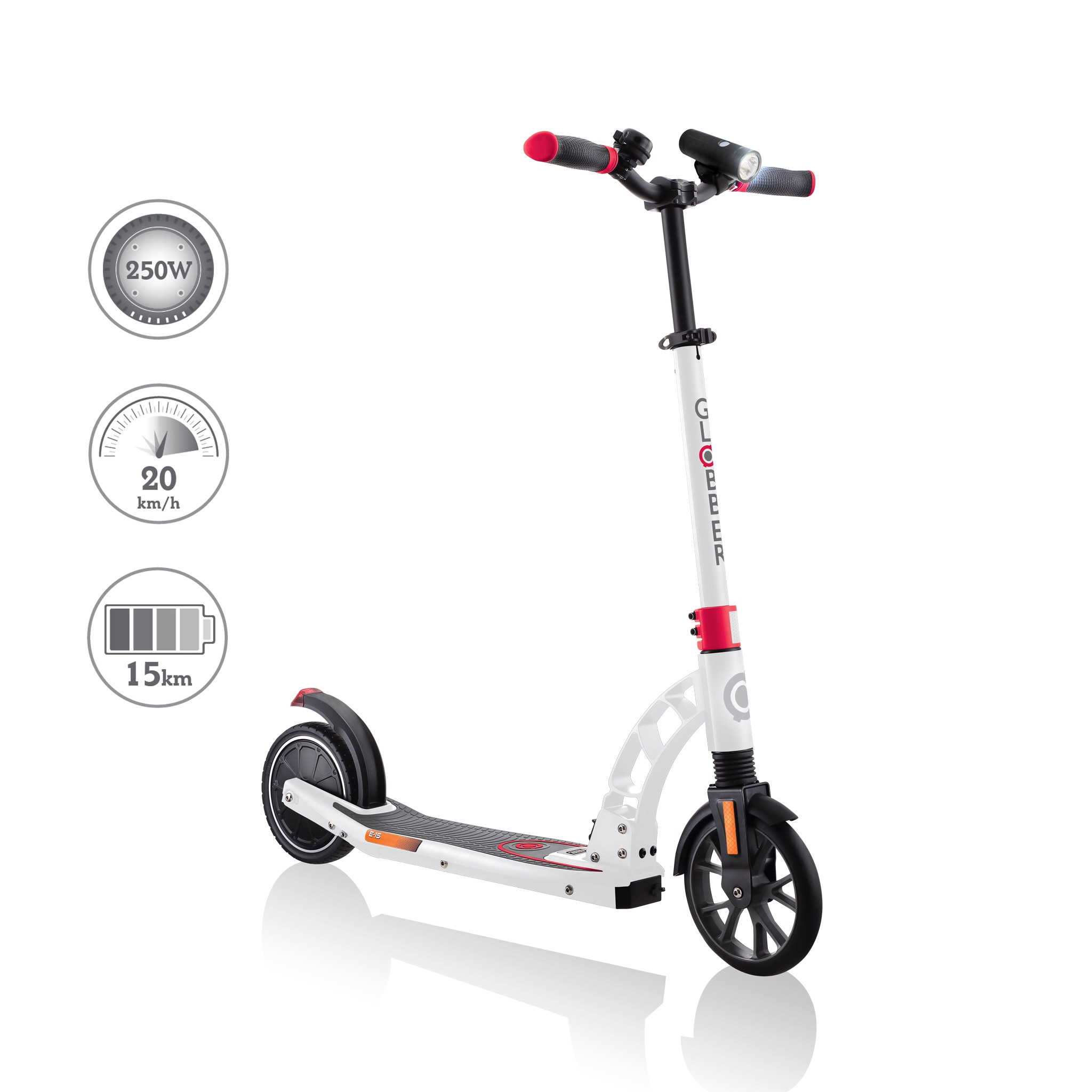 Globber-ONE-K-E-MOTION-15-electric-scooter-with-front-suspension-and-rear-ISO-brake-lights-and-front-ISO-LED-lights2 0