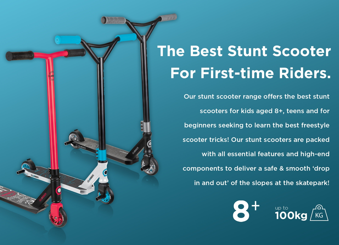 PFP-Globber-GS-best-stunt-scooters-for-kids-and-teens-aged-8-robust-stunt-scooter