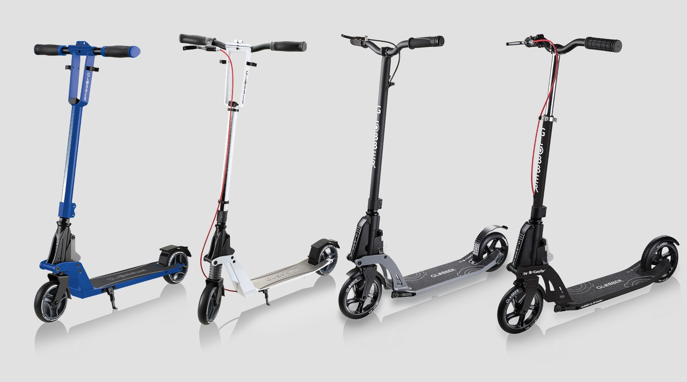 Globber-ONE-K-2-wheel-foldable-scooter-different-sized