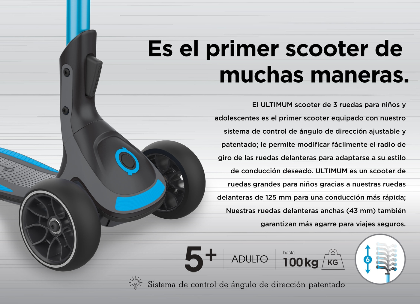ULTIMUM is the first-ever scooter in so many ways