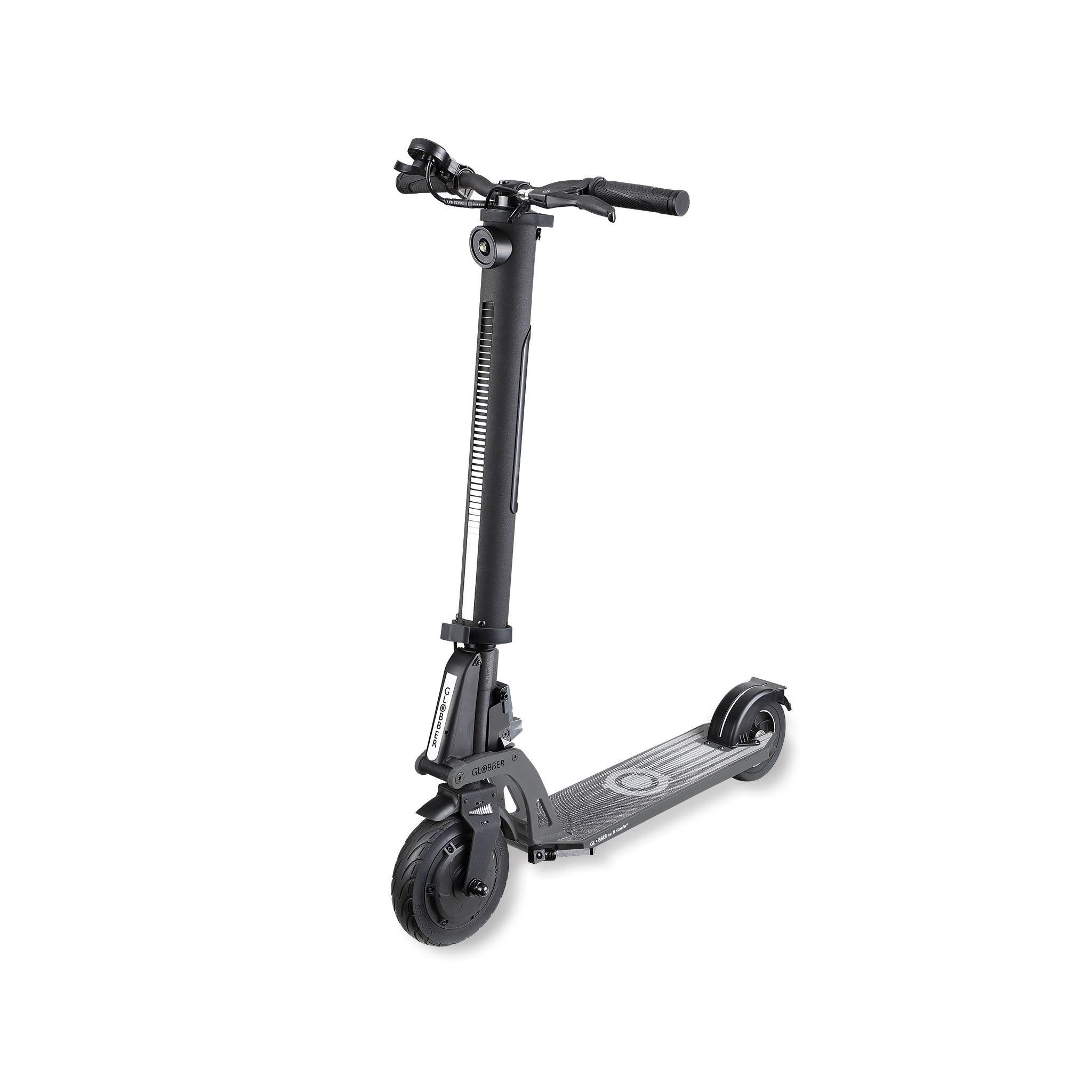 Globber ONE K E-MOTION Trottinette electrique adulte avec roues en  caoutchouc, haute performance, batterie Lithium longue durée, supportant  jusqu'à 100 kg