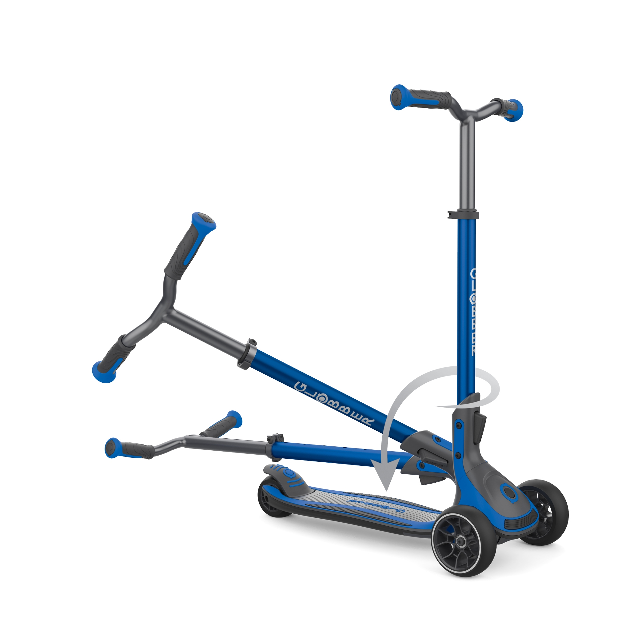 3 wheel foldable scooter for kids, teens and adults - Globber ULTIMUM 3