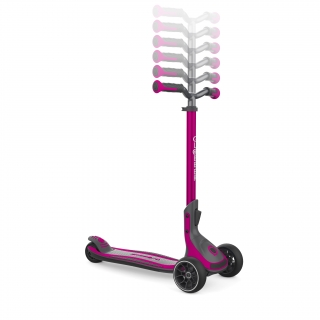 3 wheel foldable scooter for kids, teens and adults - Globber ULTIMUM thumbnail 2