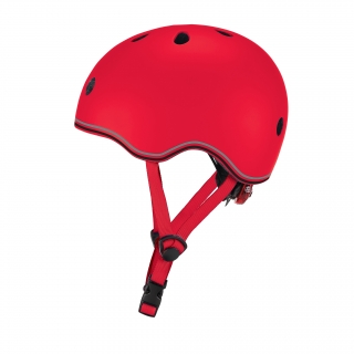EVO-helmets-scooter-helmets-for-toddlers-with-adjustable-helmet-knob-new-red thumbnail 1