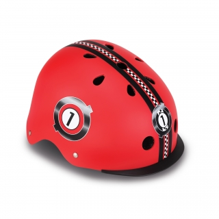 ELITE-helmets-scooter-helmets-for-kids-in-mold-polycarbonate-outer-shell-new-red thumbnail 0