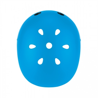 PRIMO-helmets-best-scooter-helmets-for-kids-with-air-vents-cooling-system-sky-blue thumbnail 1