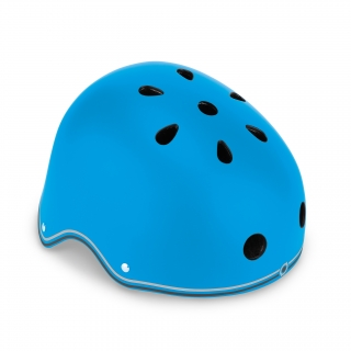 PRIMO-helmets-scooter-helmets-for-kids-in-mold-polycarbonate-outer-shell-sky-blue thumbnail 0