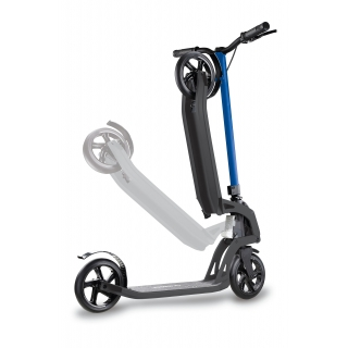 foldable scooter for adults with handbrake - Globber ONE K 180 BR thumbnail 3